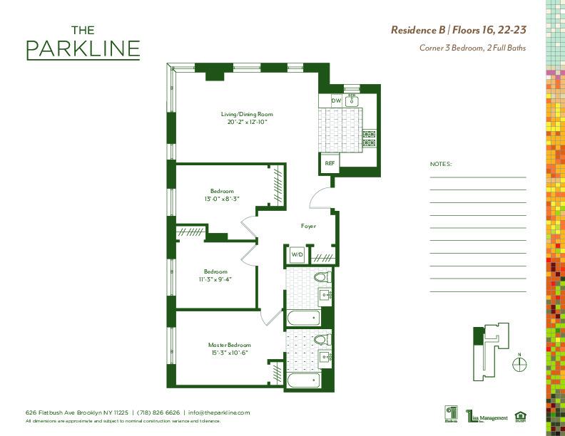 The Parkline, 626 Flatbush Avenue, 17B - Prospect-Lefferts Gardens, New York