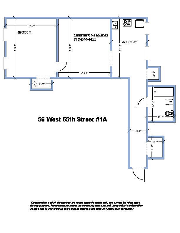 56 West 65TH ST, 1A - Upper West Side, New York