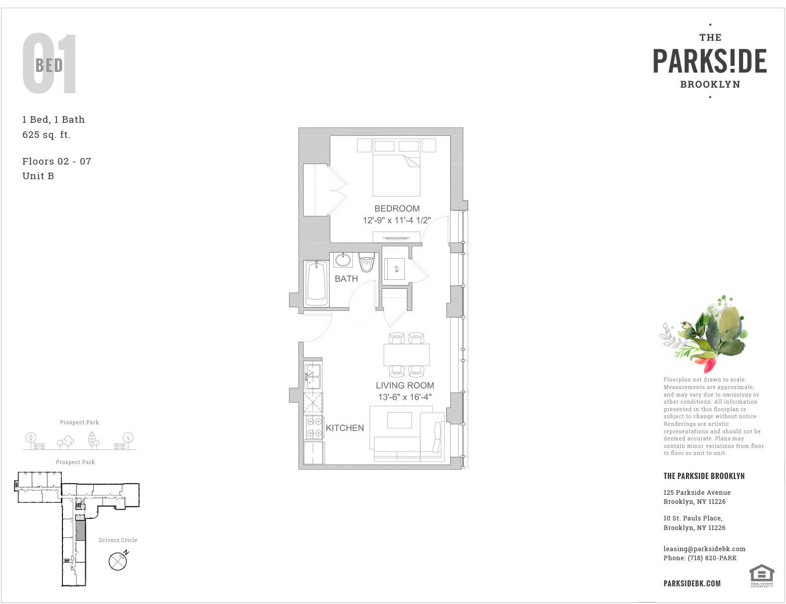 125 Parkside Avenue, 6S - Prospect Park South, New York