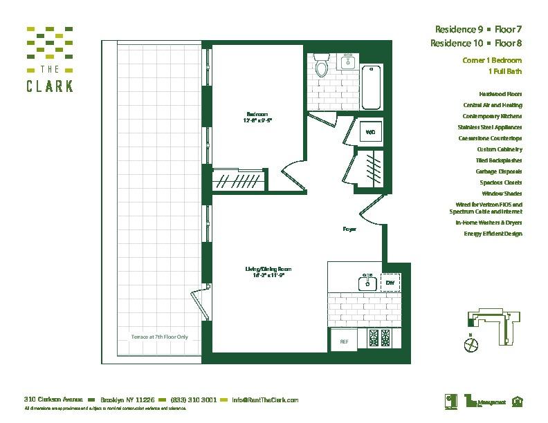 #709 Floor Plan