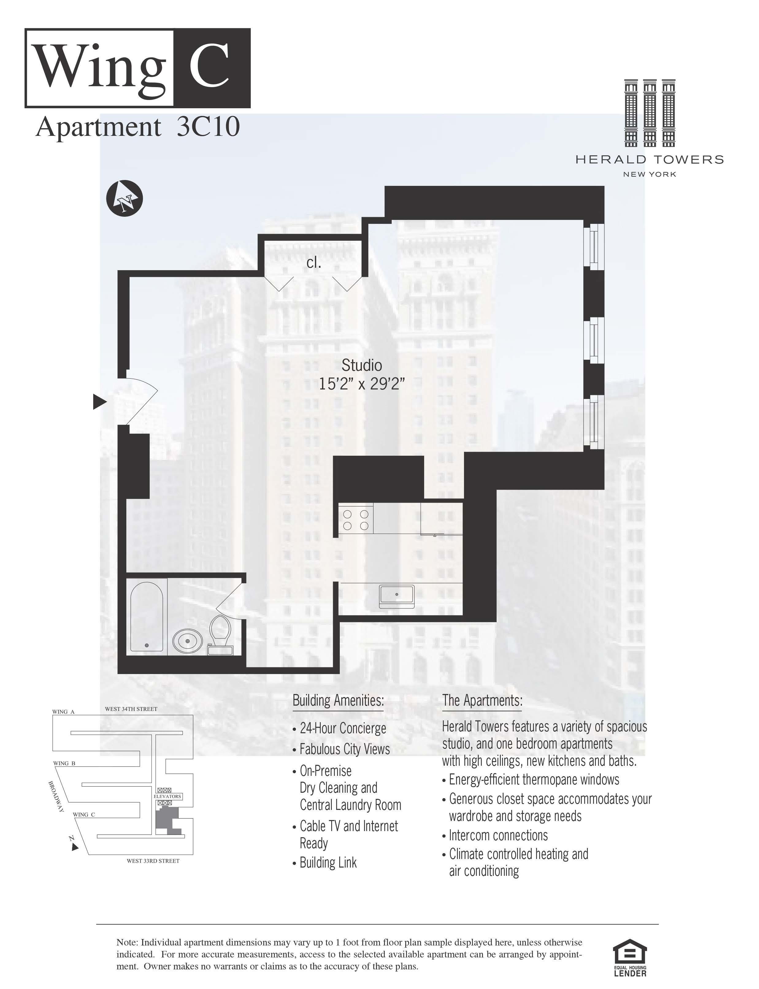 Floor plan for 03C10