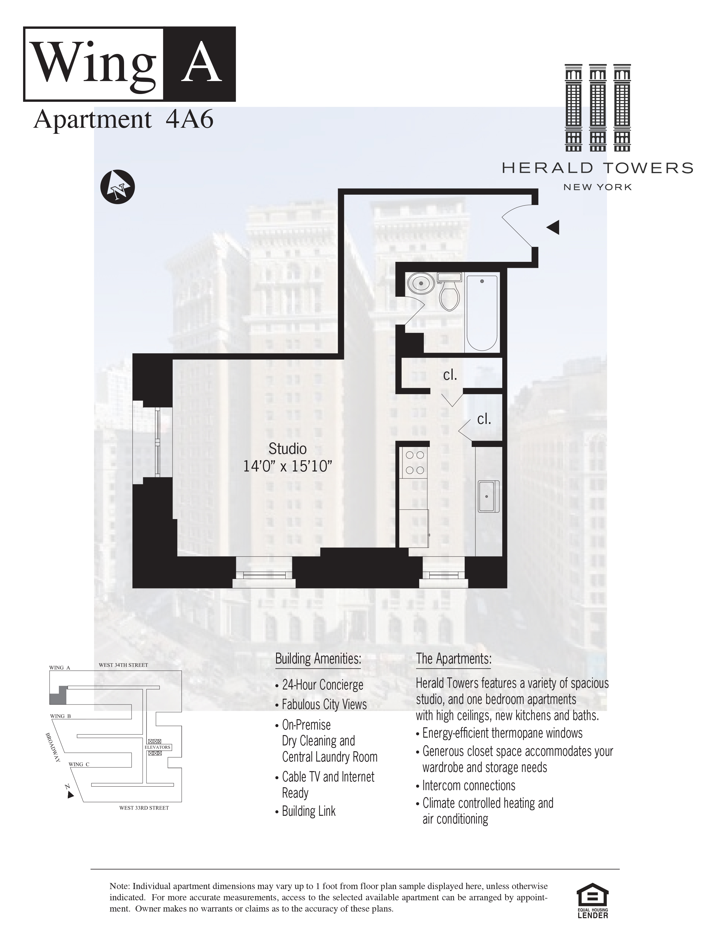 Floor plan for 04A06