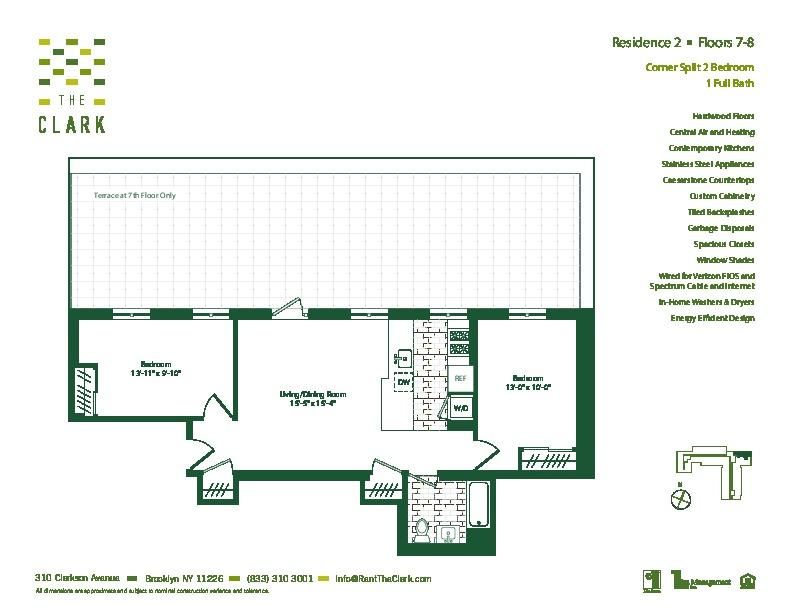 #702 Floor Plan