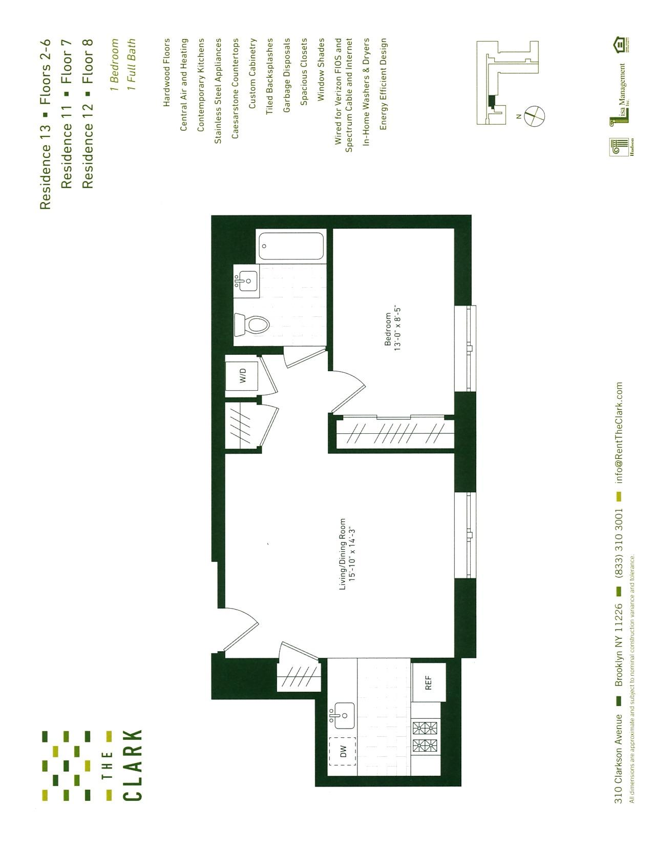 #213 Floor Plan