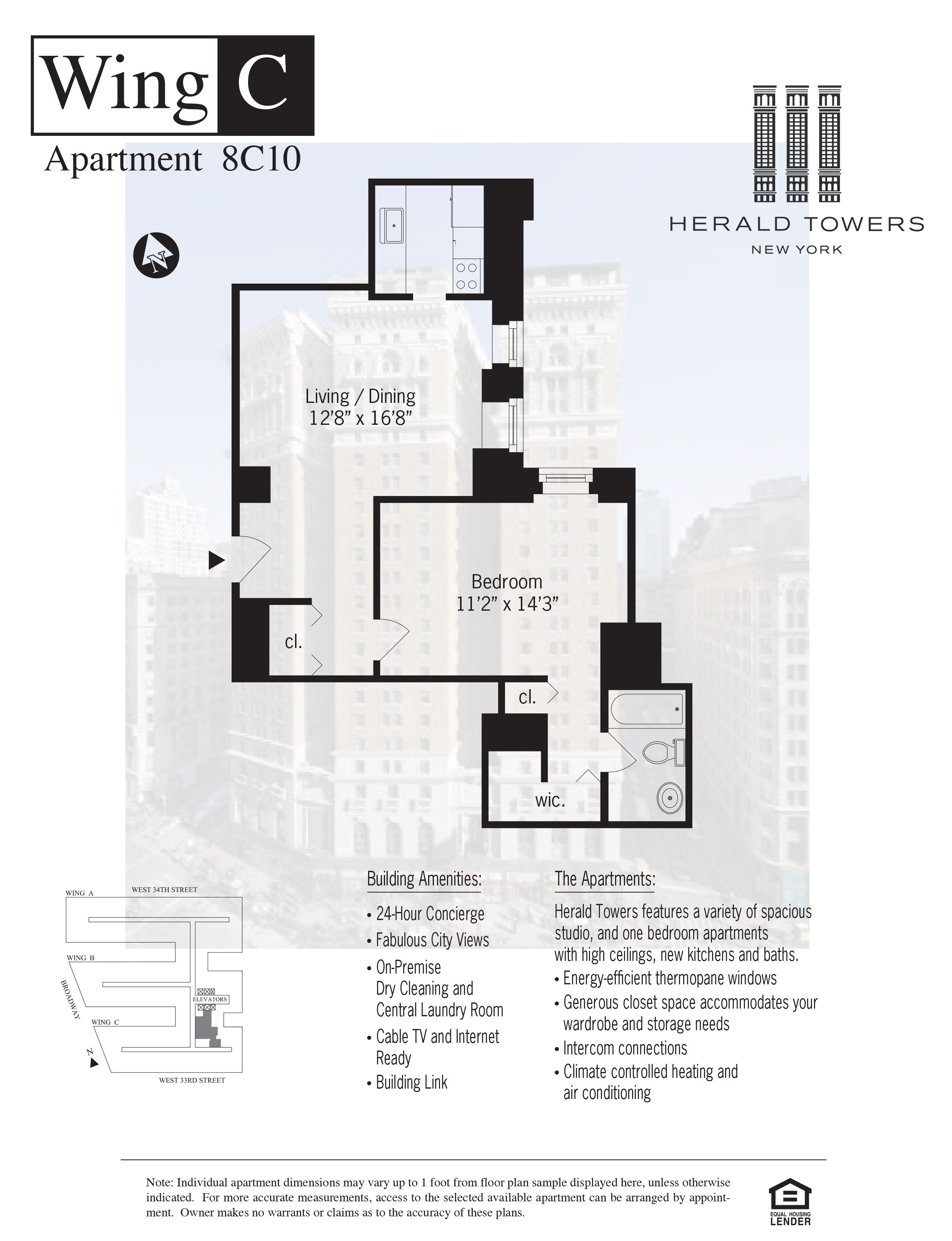 Floor plan for 08C10