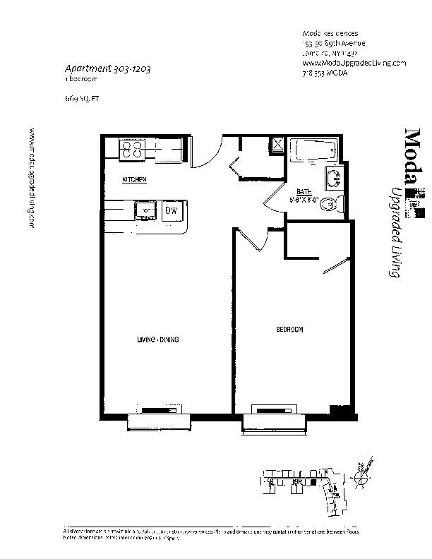 Floor plan for 716
