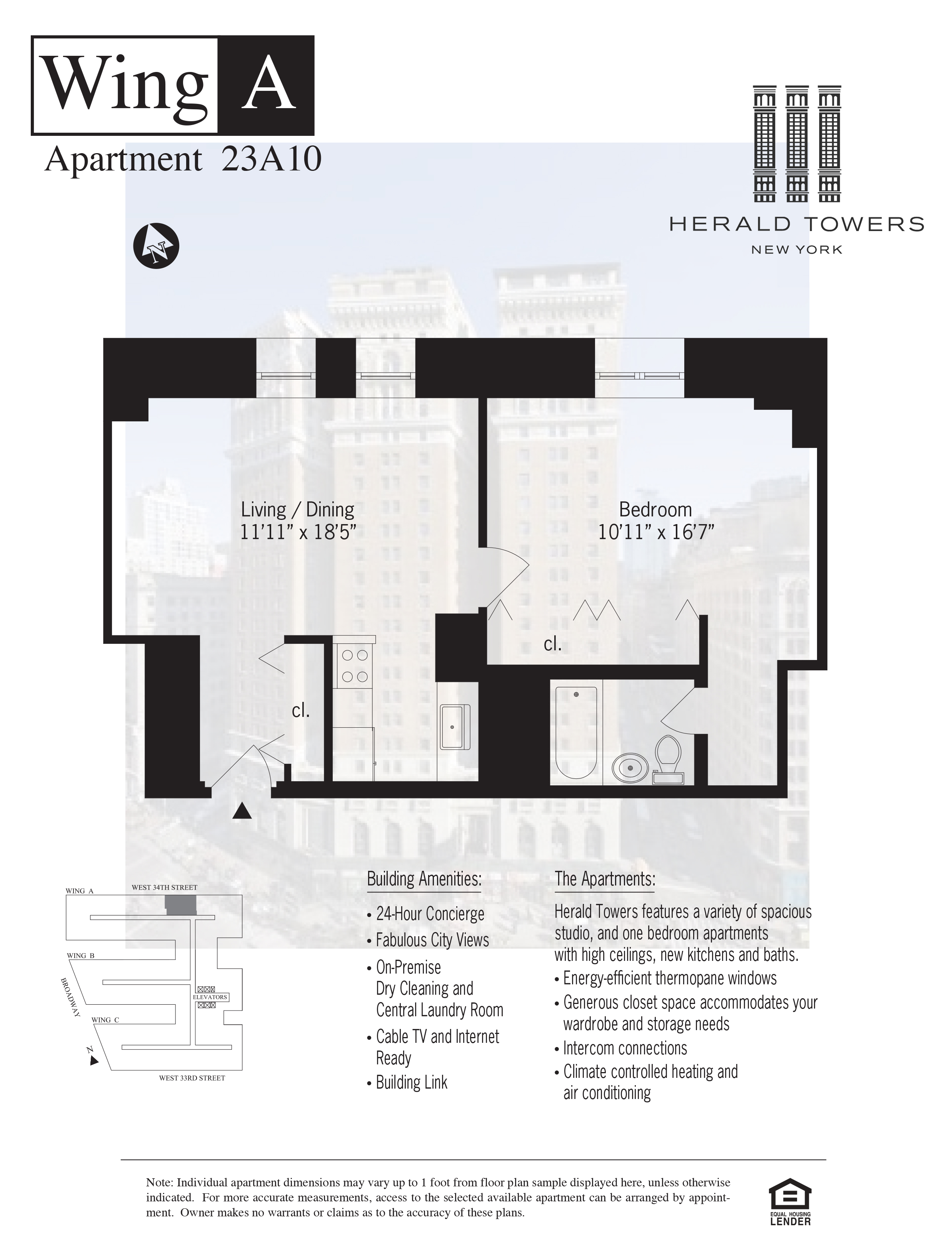 Floor plan for 23A10
