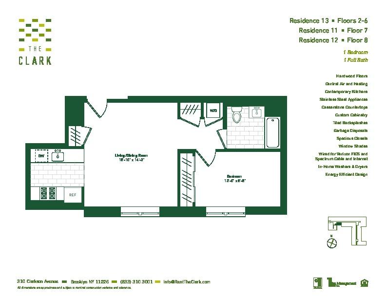 #711 Floor Plan