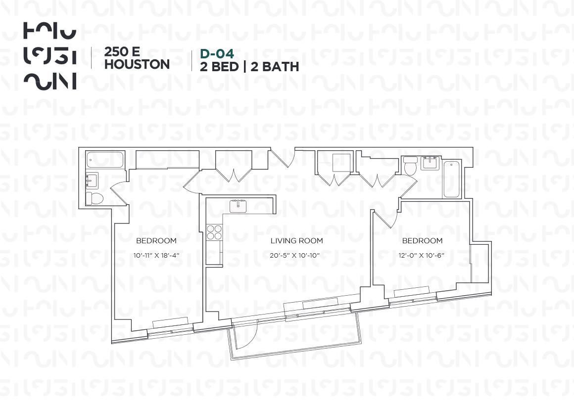 Floor plan for 8D