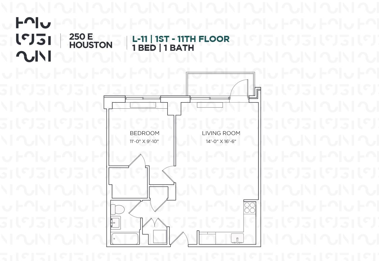 Floor plan for 6L