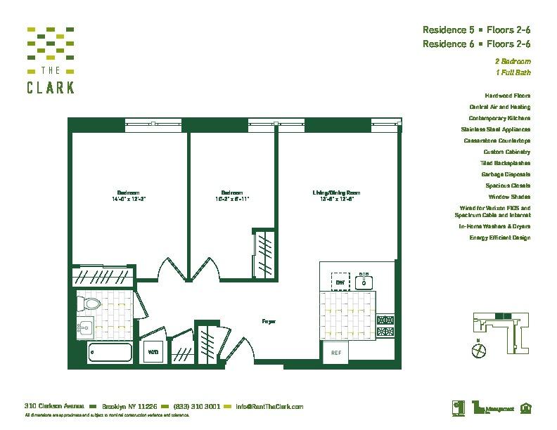 #305 Floor Plan