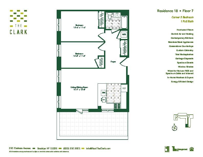 #718 Floor Plan