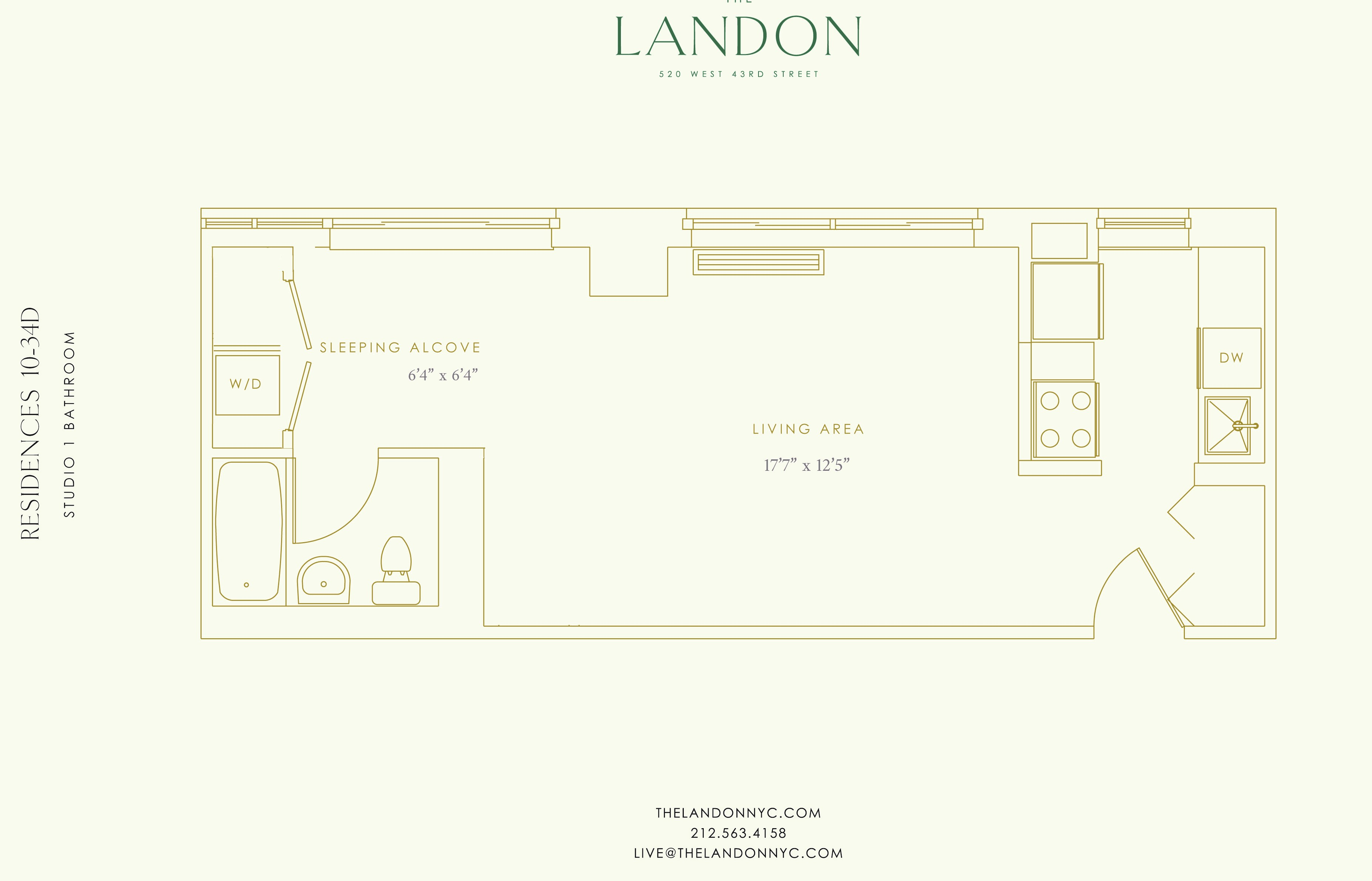 Floor plan for 11D
