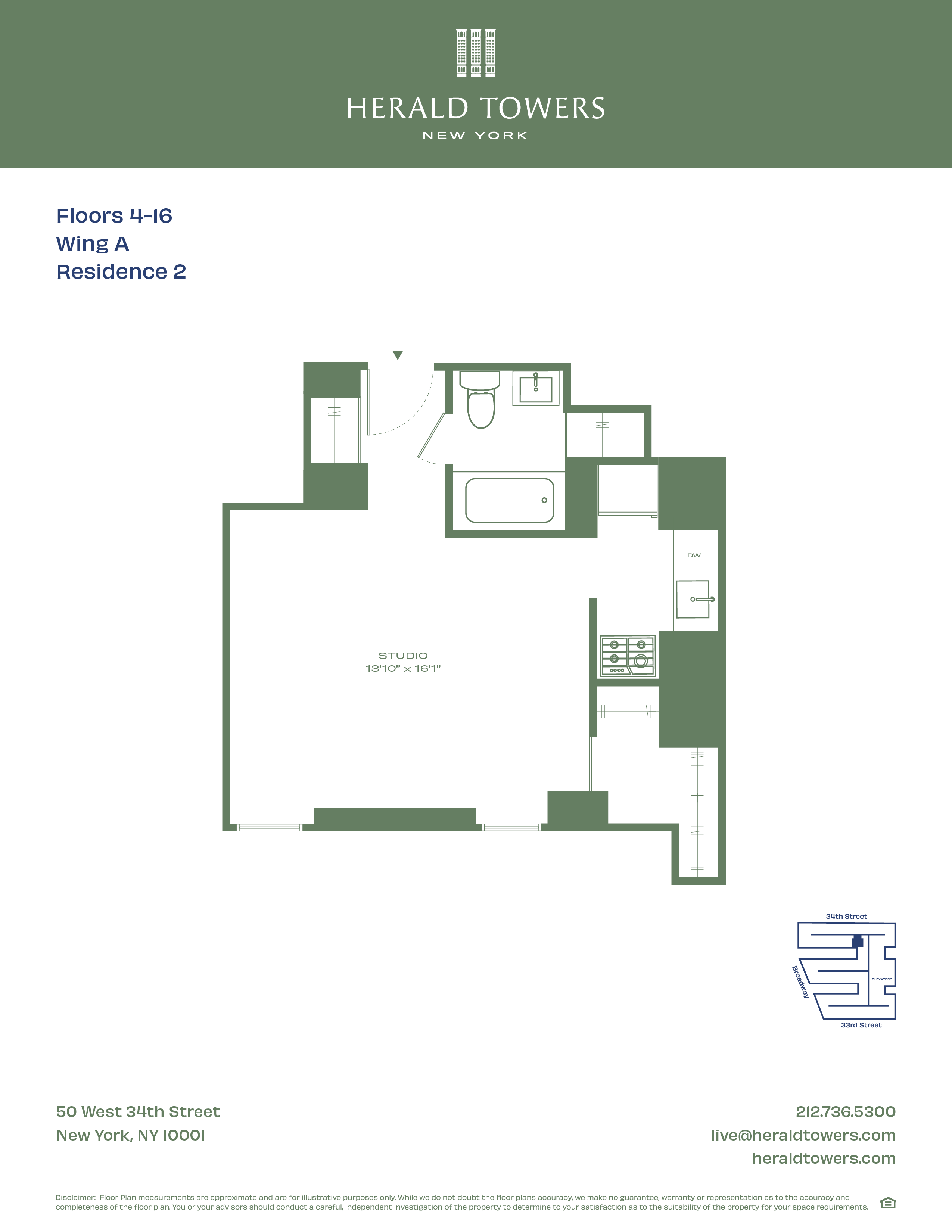 Floor plan for 10A02