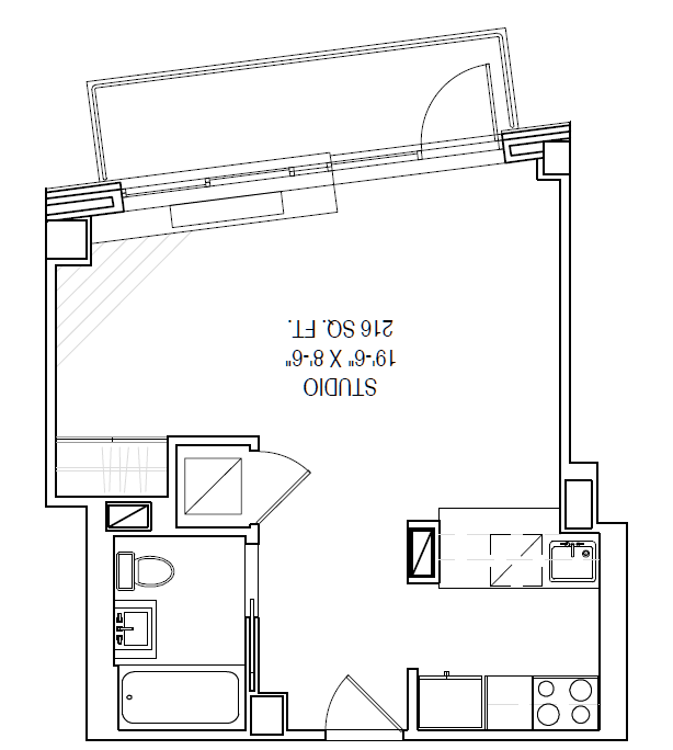 Floor plan for 03F