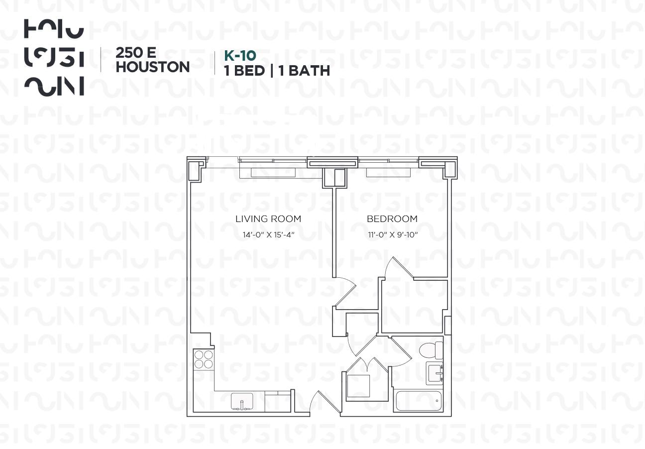 Floor plan for 03K