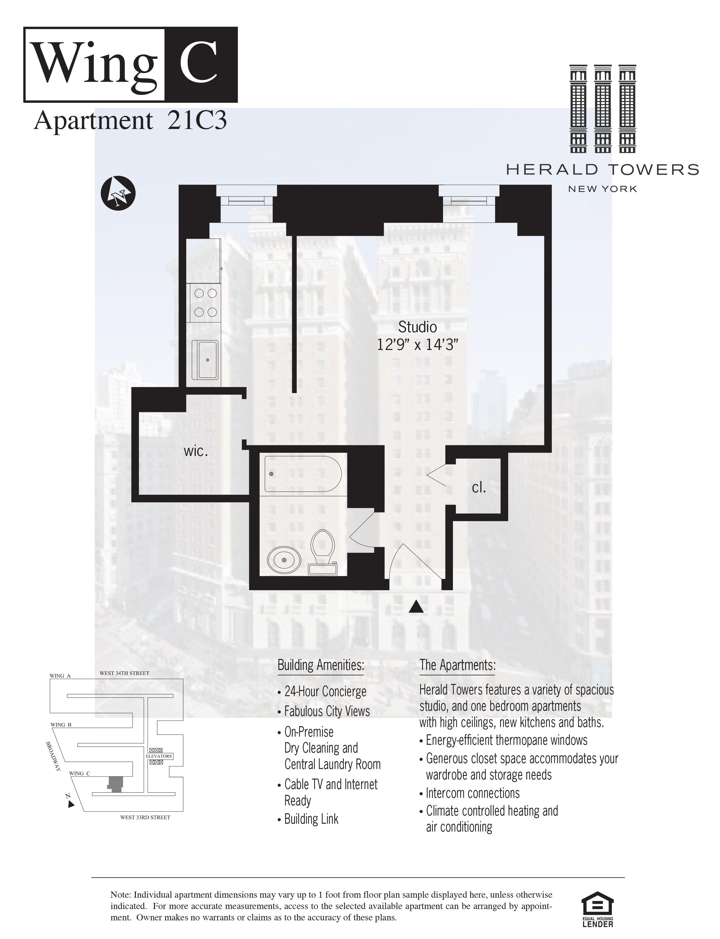 Floor plan for 21C03