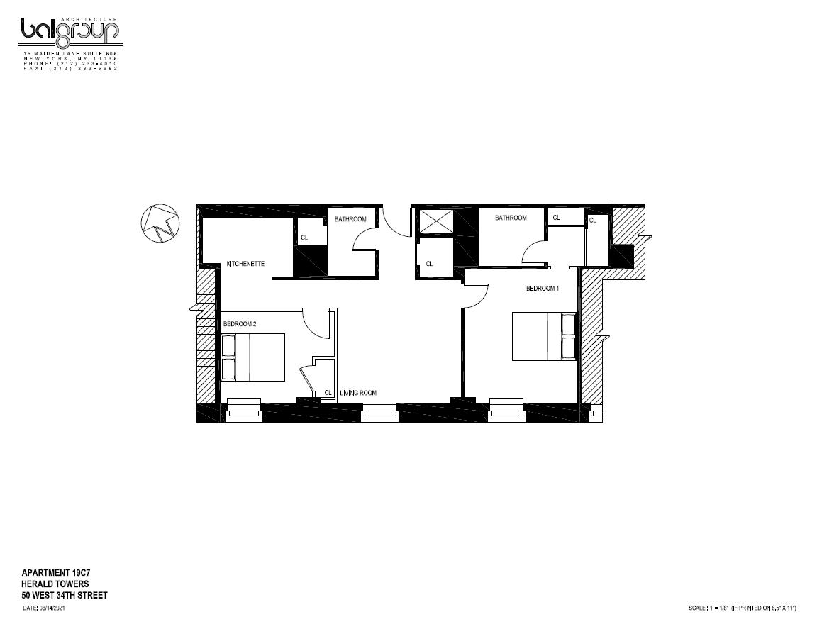 Floor plan for 19C07