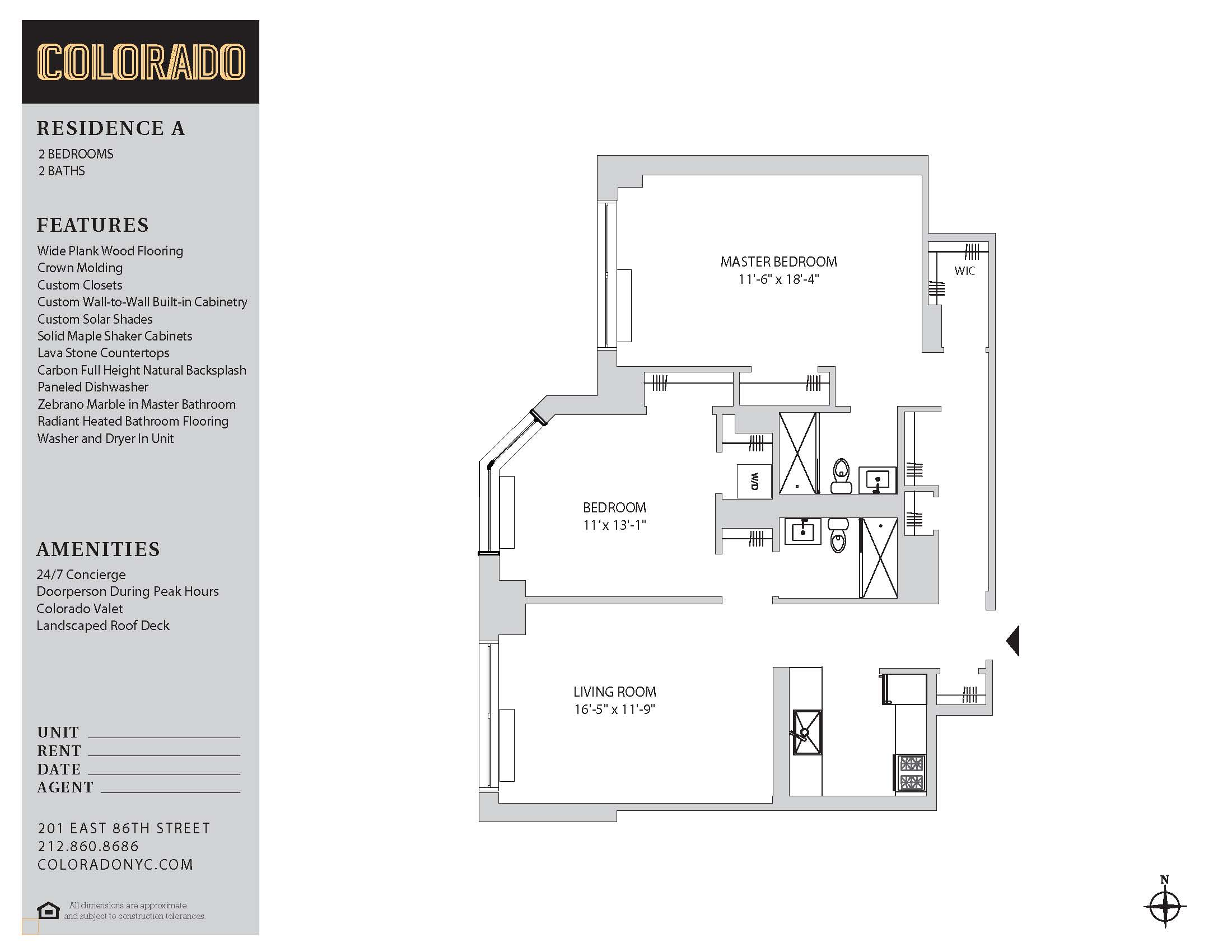 Floor plan for 30AB