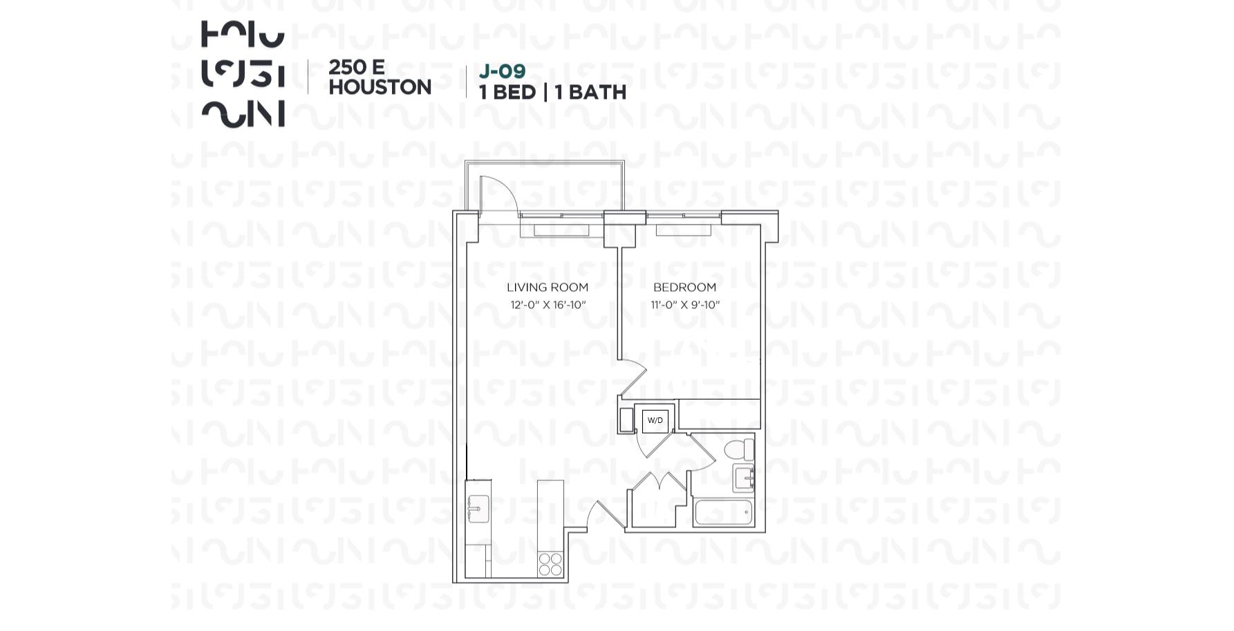 Floor plan for 5J