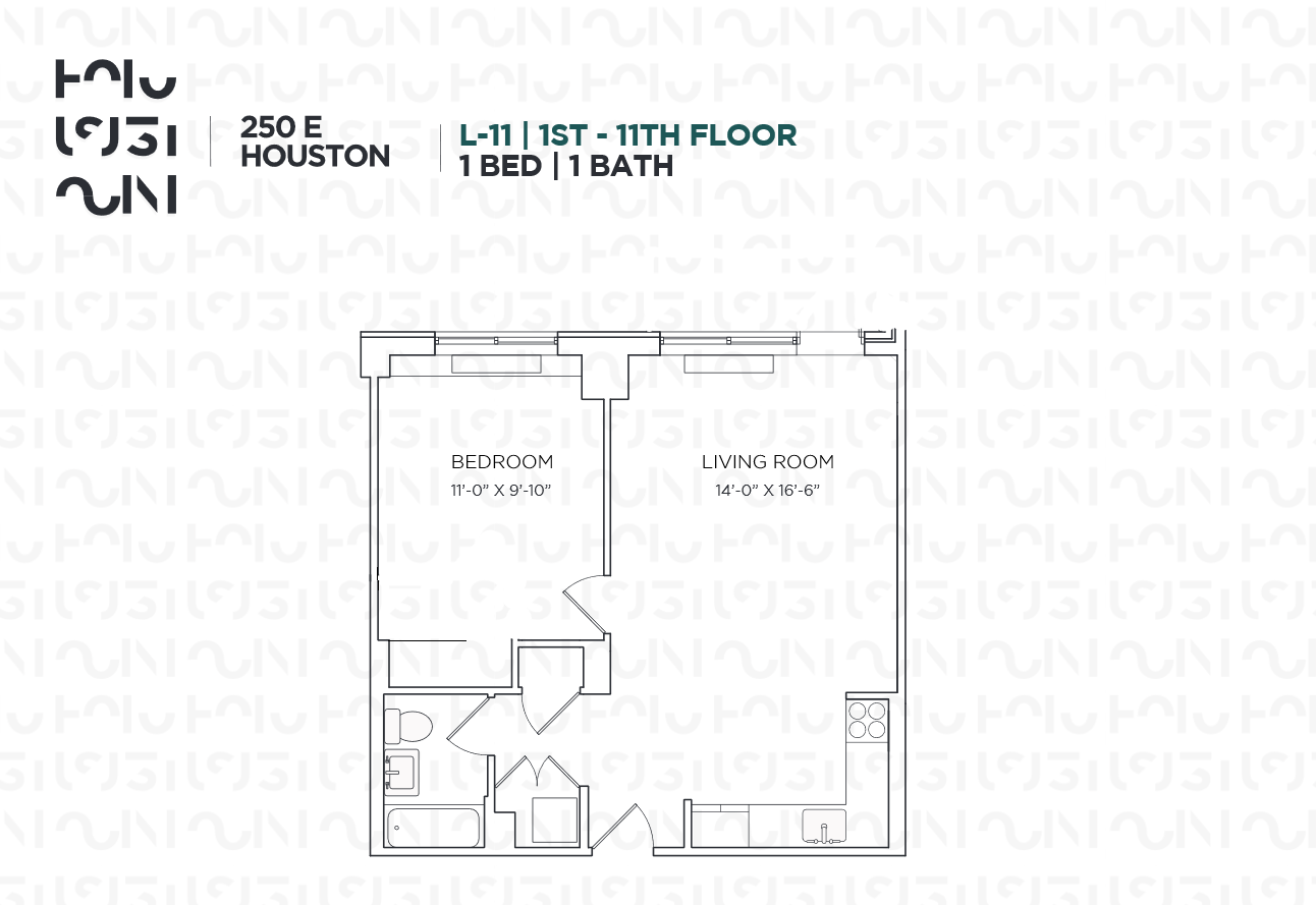 Floor plan for 3L