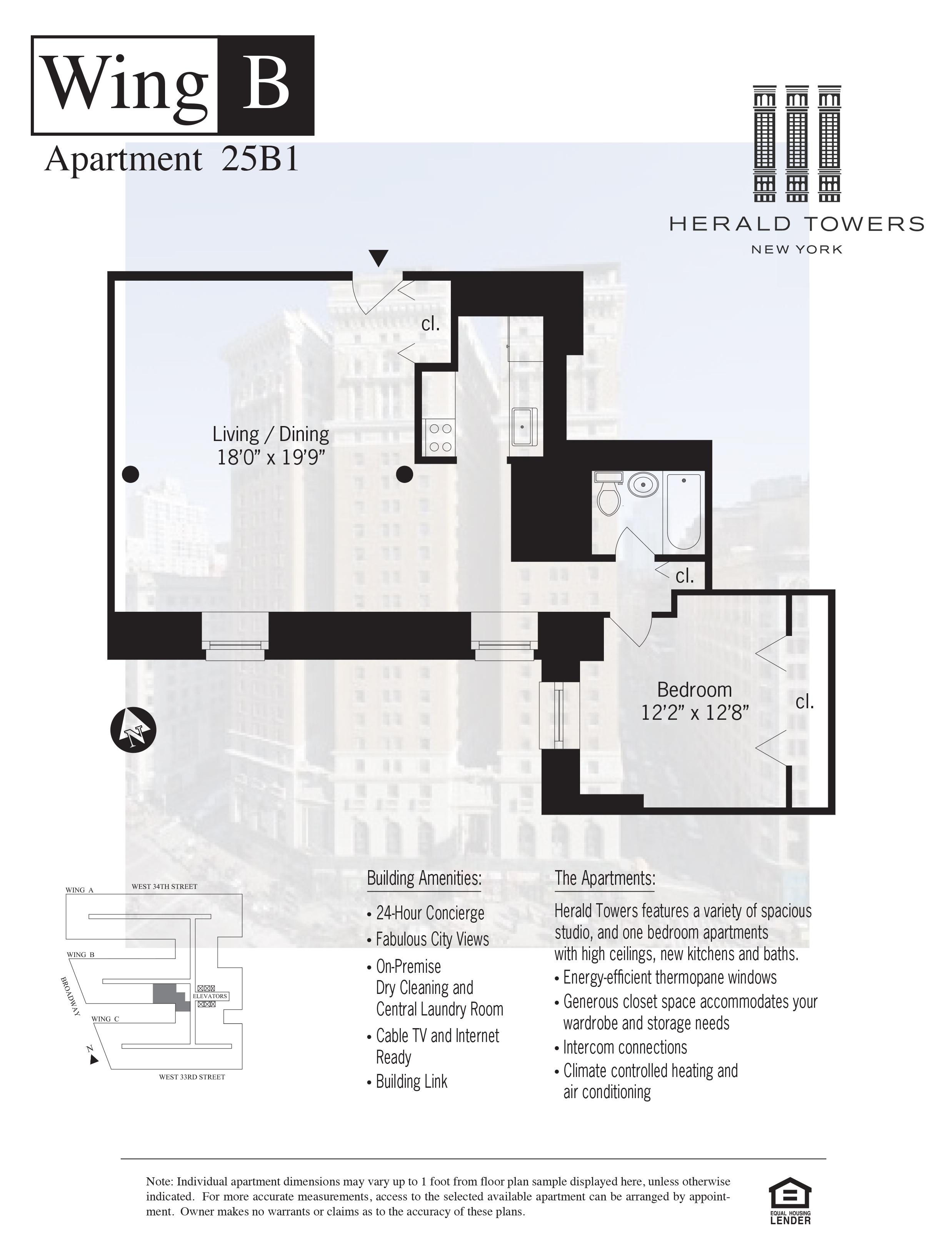 Floor plan for 25B01