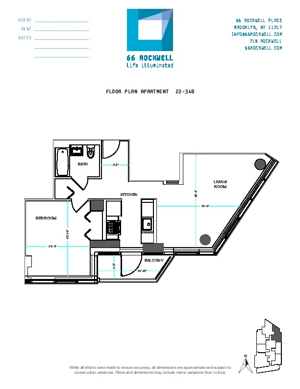 Floor plan for 31B