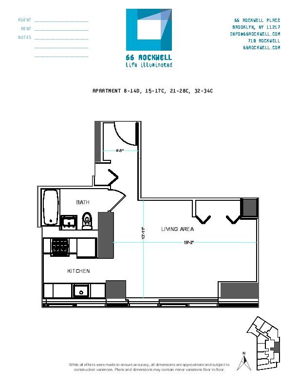 Floor plan for 24C