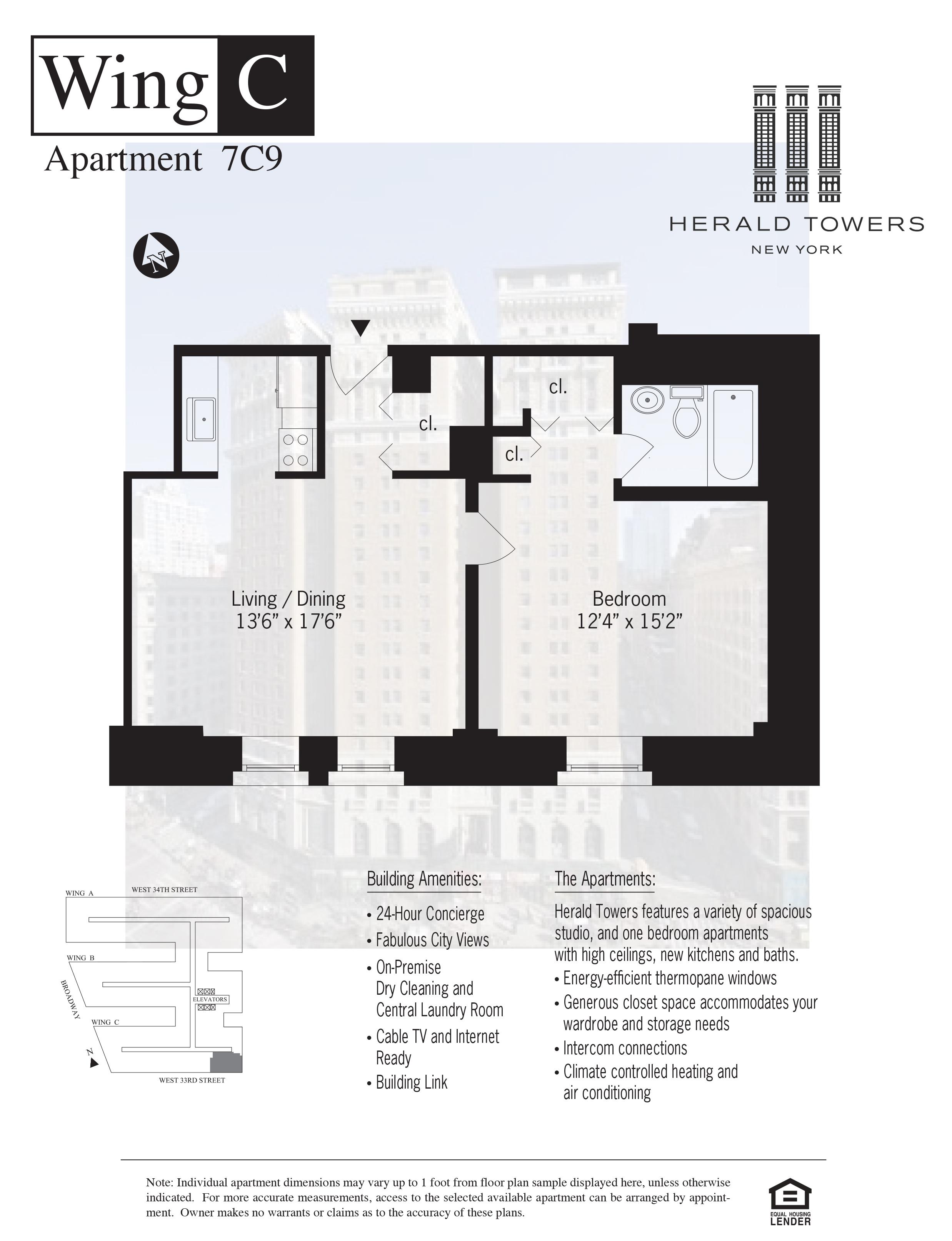 Floor plan for 07C09