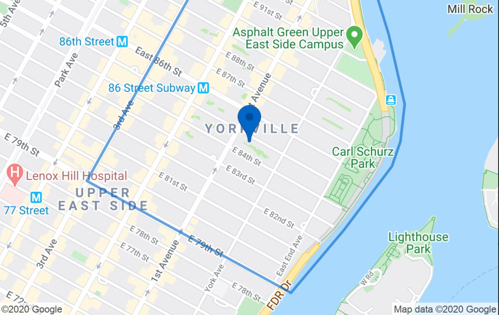 414 East 85th Street Upper East Side New York NY 10028