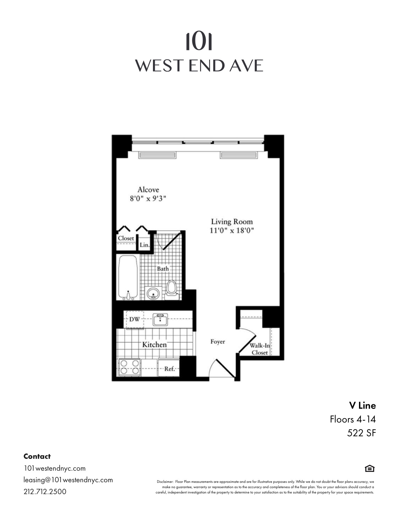 Floor plan for 6V