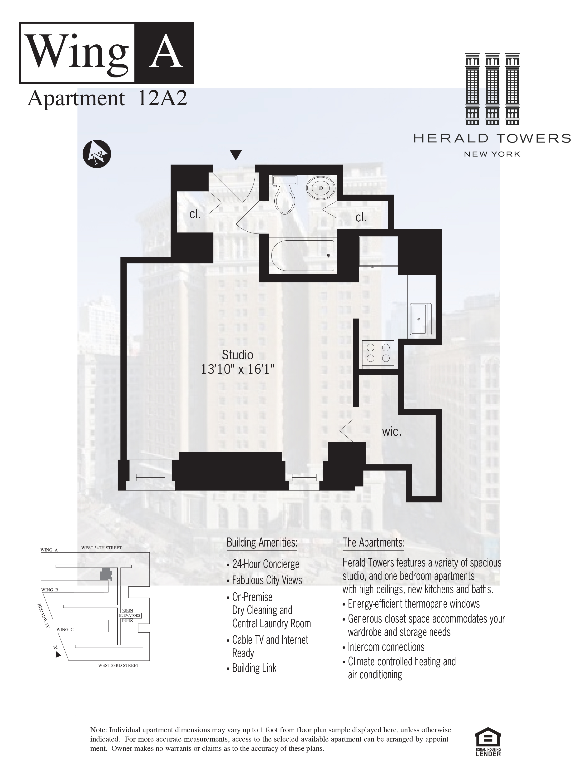 Floor plan for 12A02