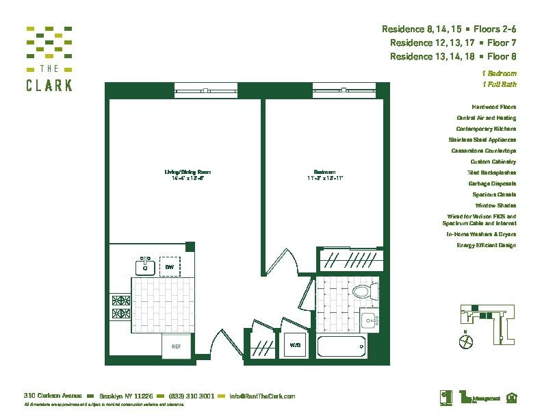 #814 Floor Plan