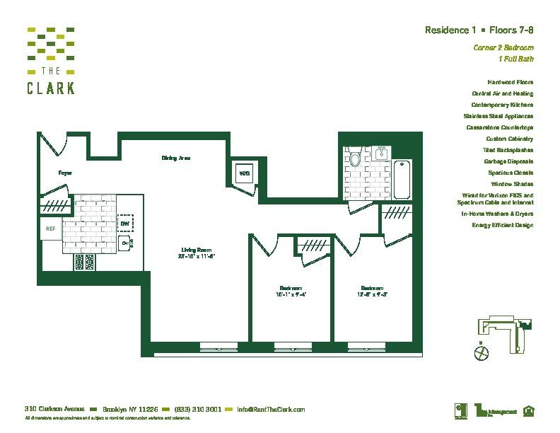 #701 Floor Plan