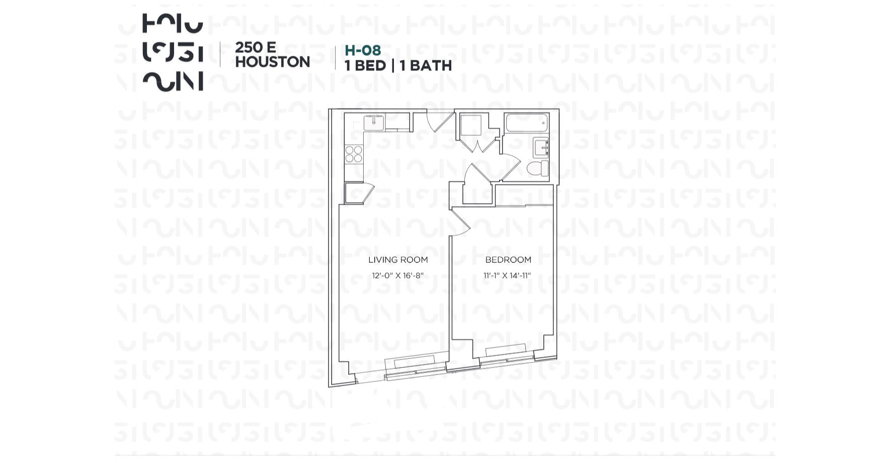 Floor plan for 2H