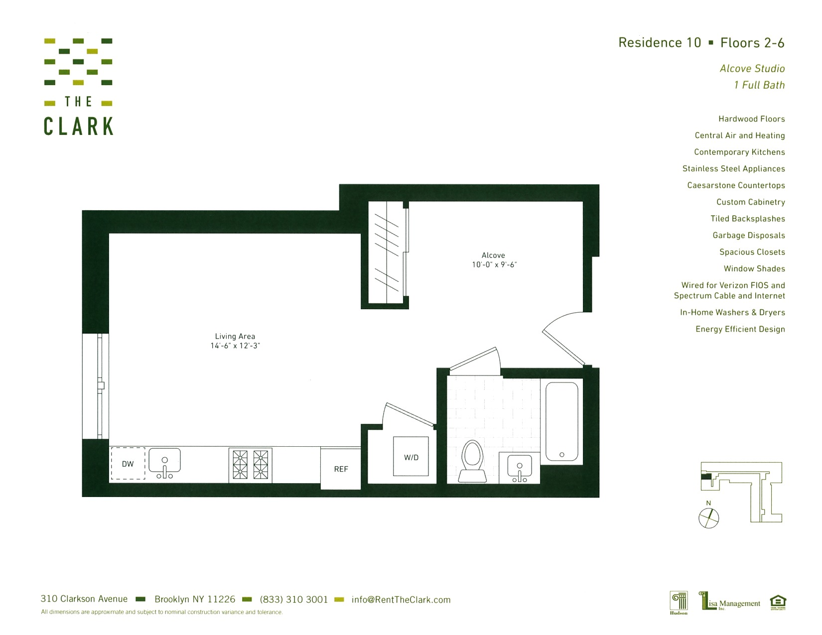 #210 Floor Plan
