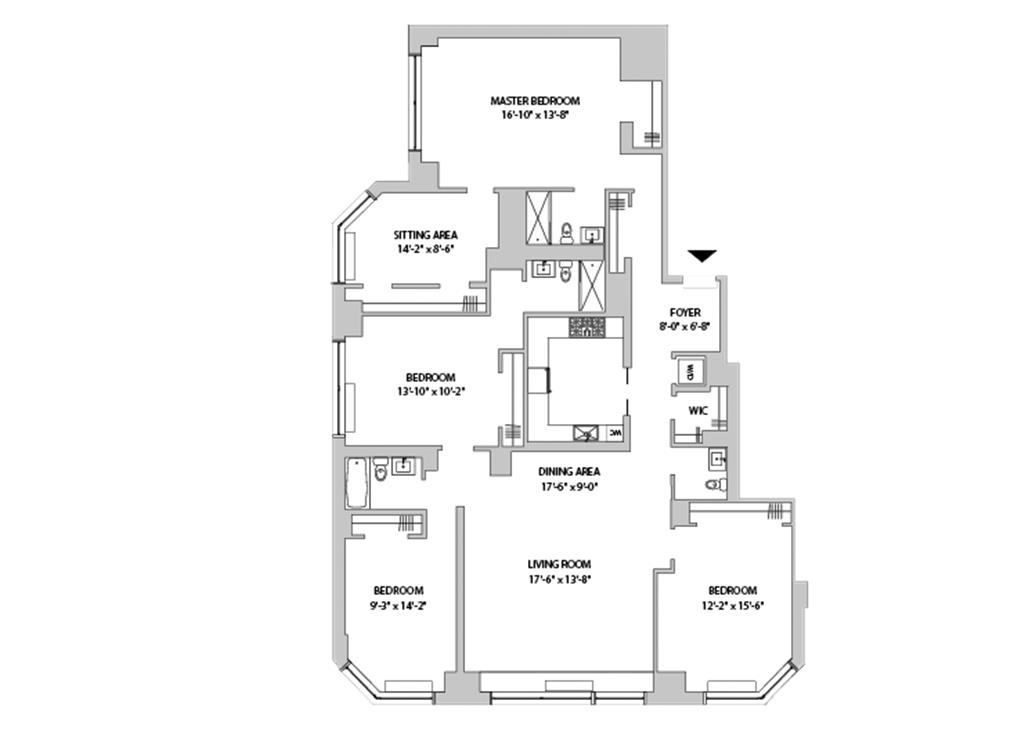 Floor plan for 26-A