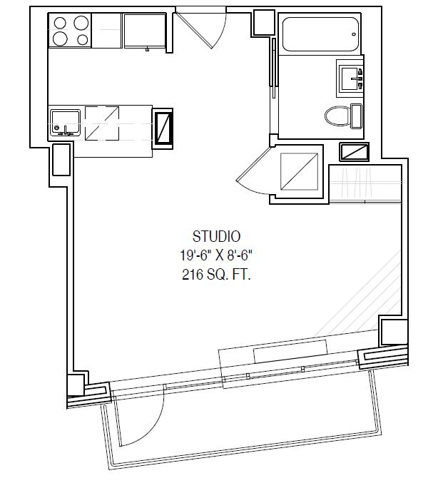 Floor plan for 8F