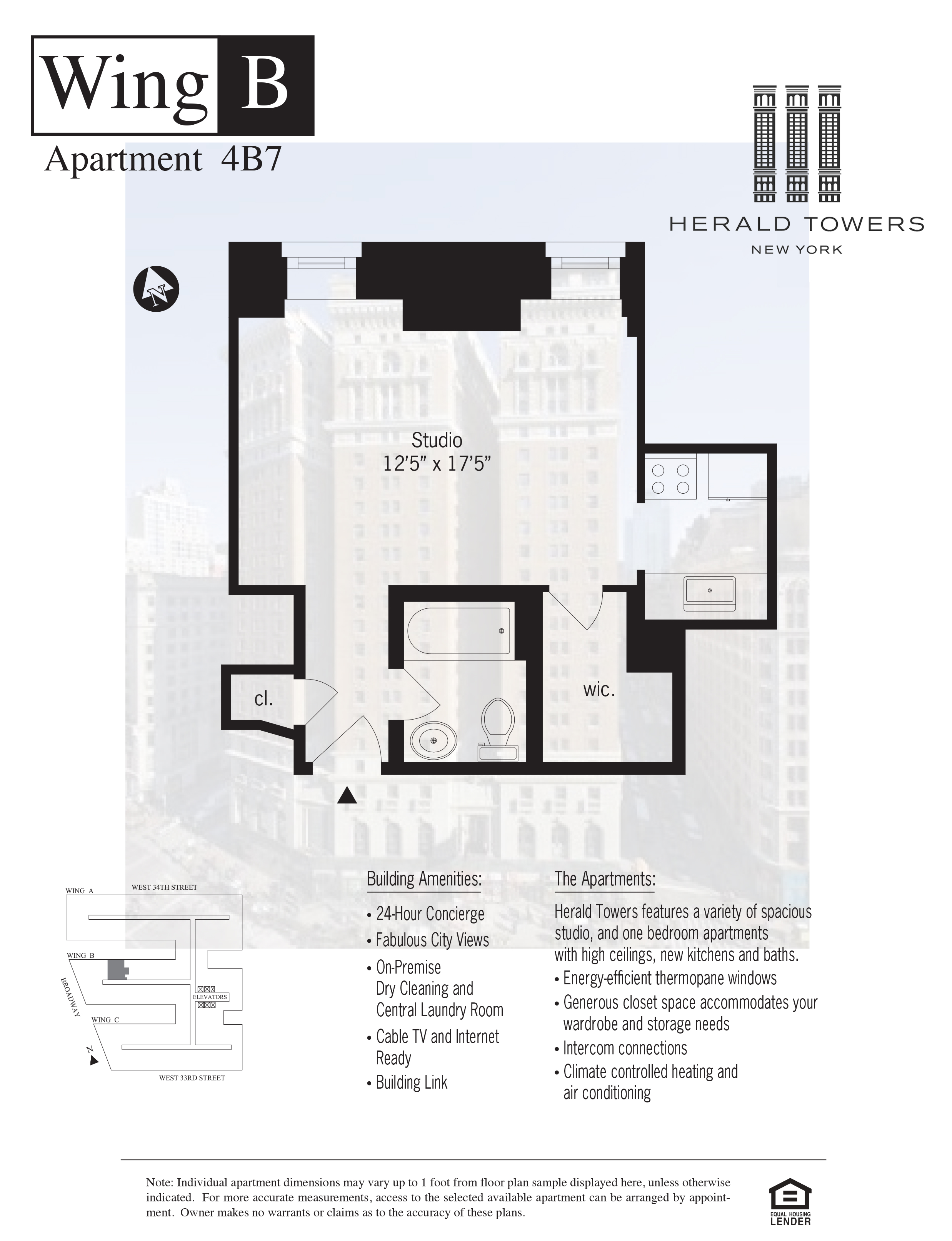 Floor plan for 04B07