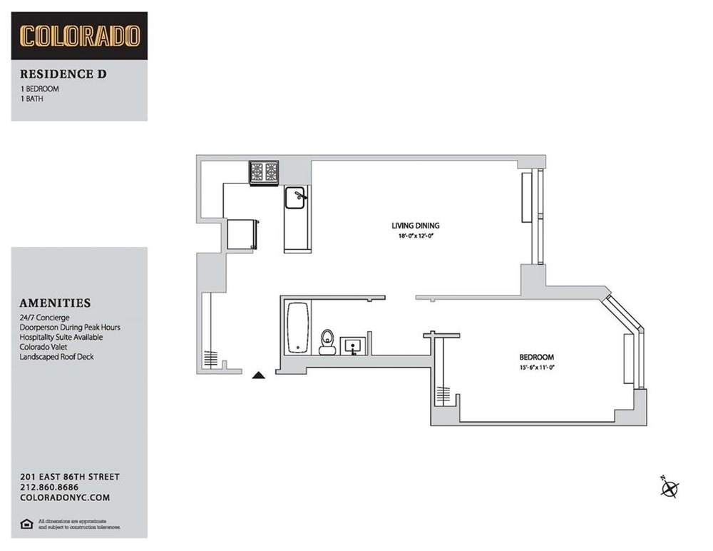 Floor plan for 5-D