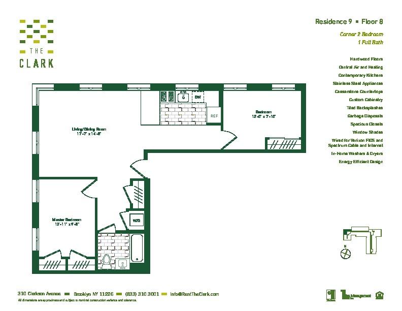 #809 Floor Plan