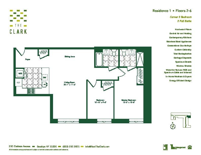 #401 Floor Plan