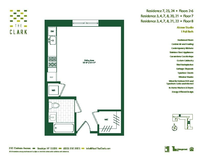 #607 Floor Plan