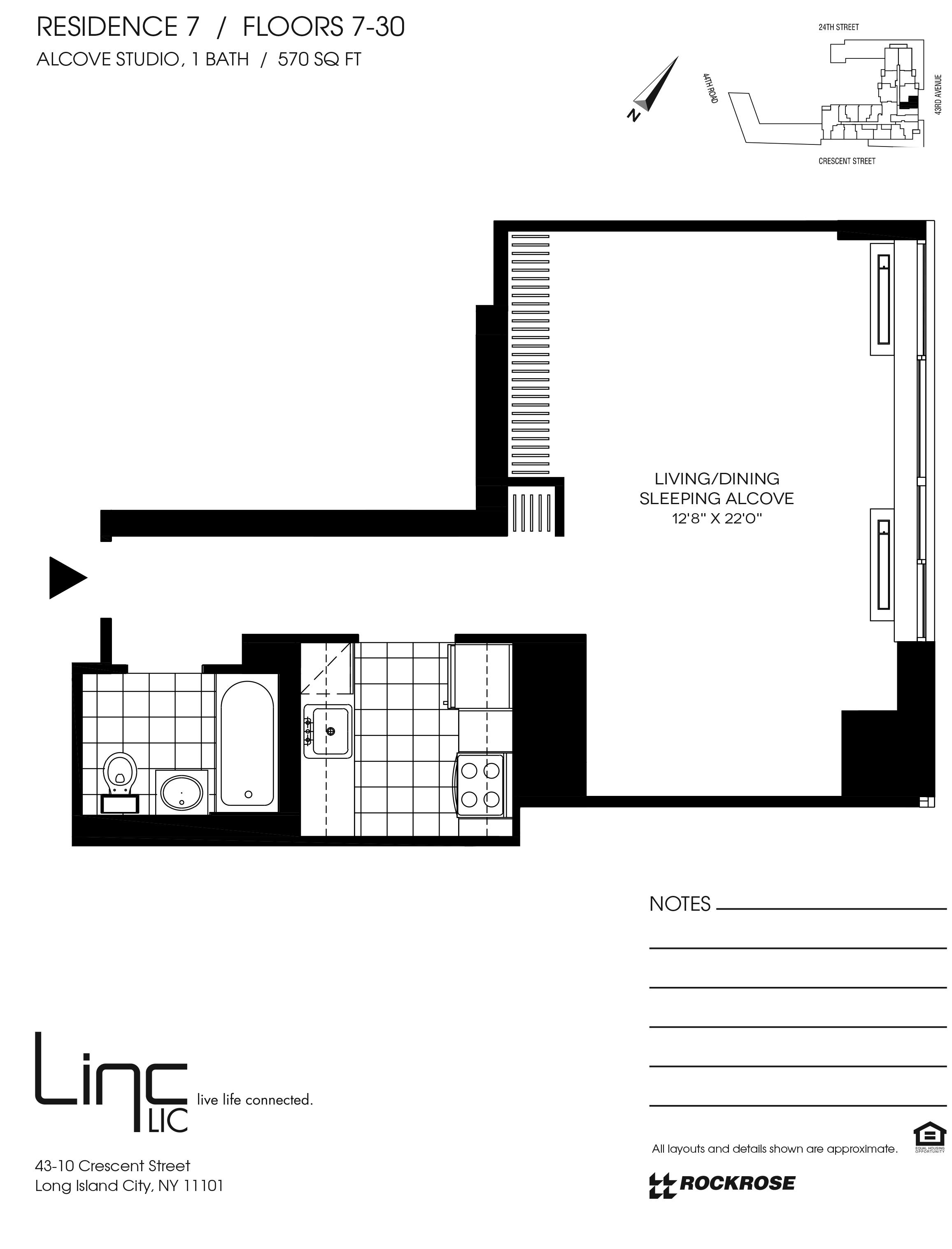 Long Island City Rentals   Linc LIC   Rockrose com