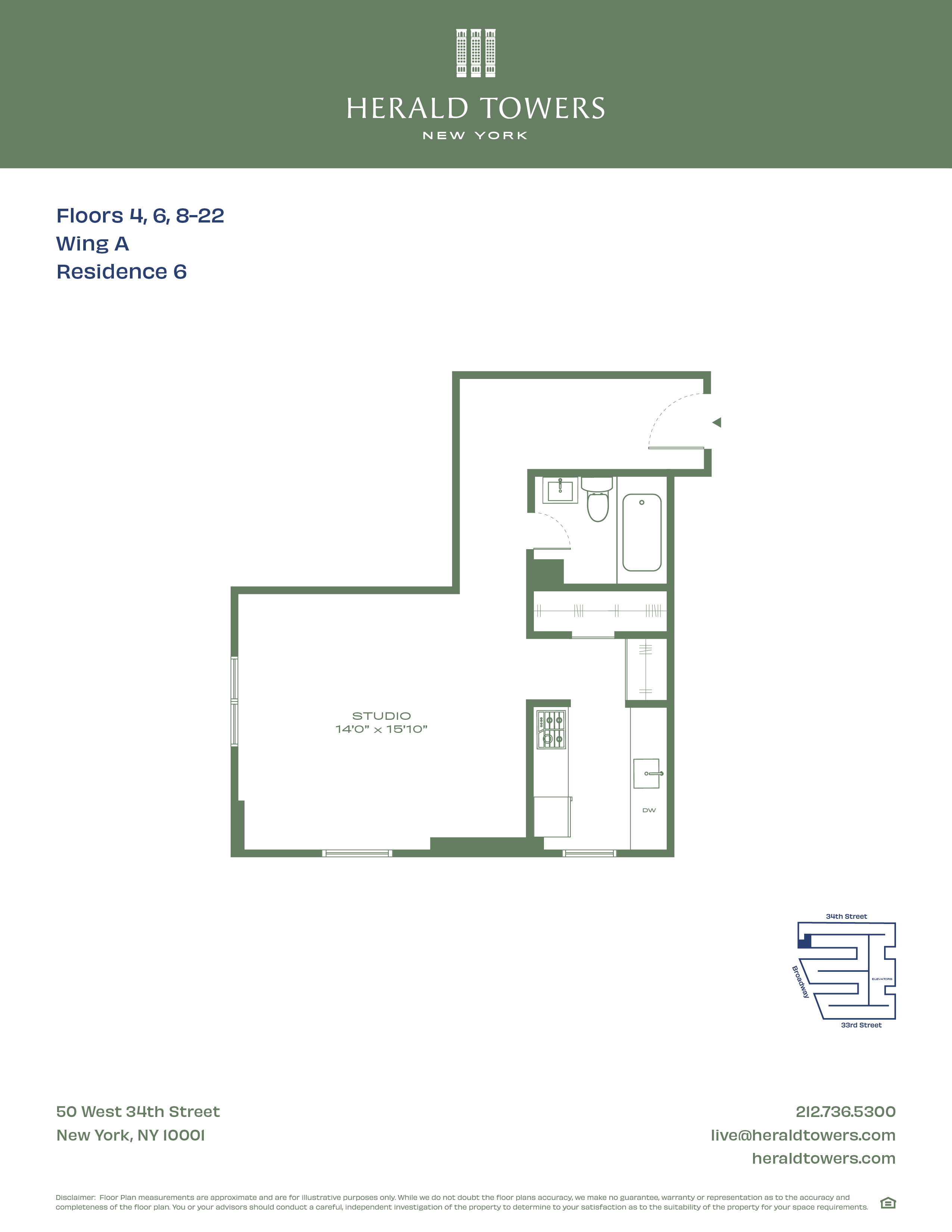 Floor plan for 17A06