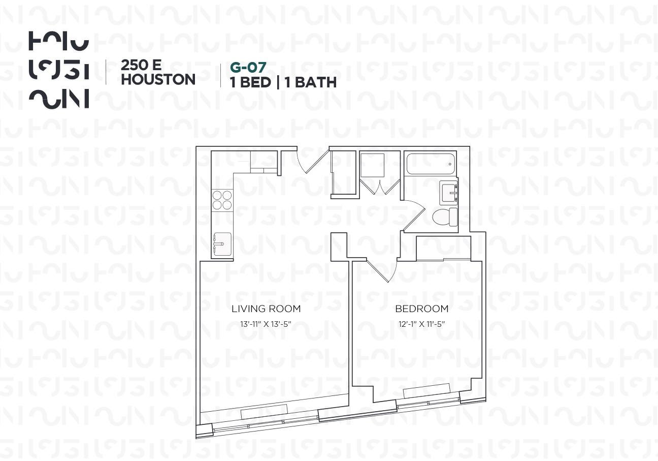 Floor plan for 9G