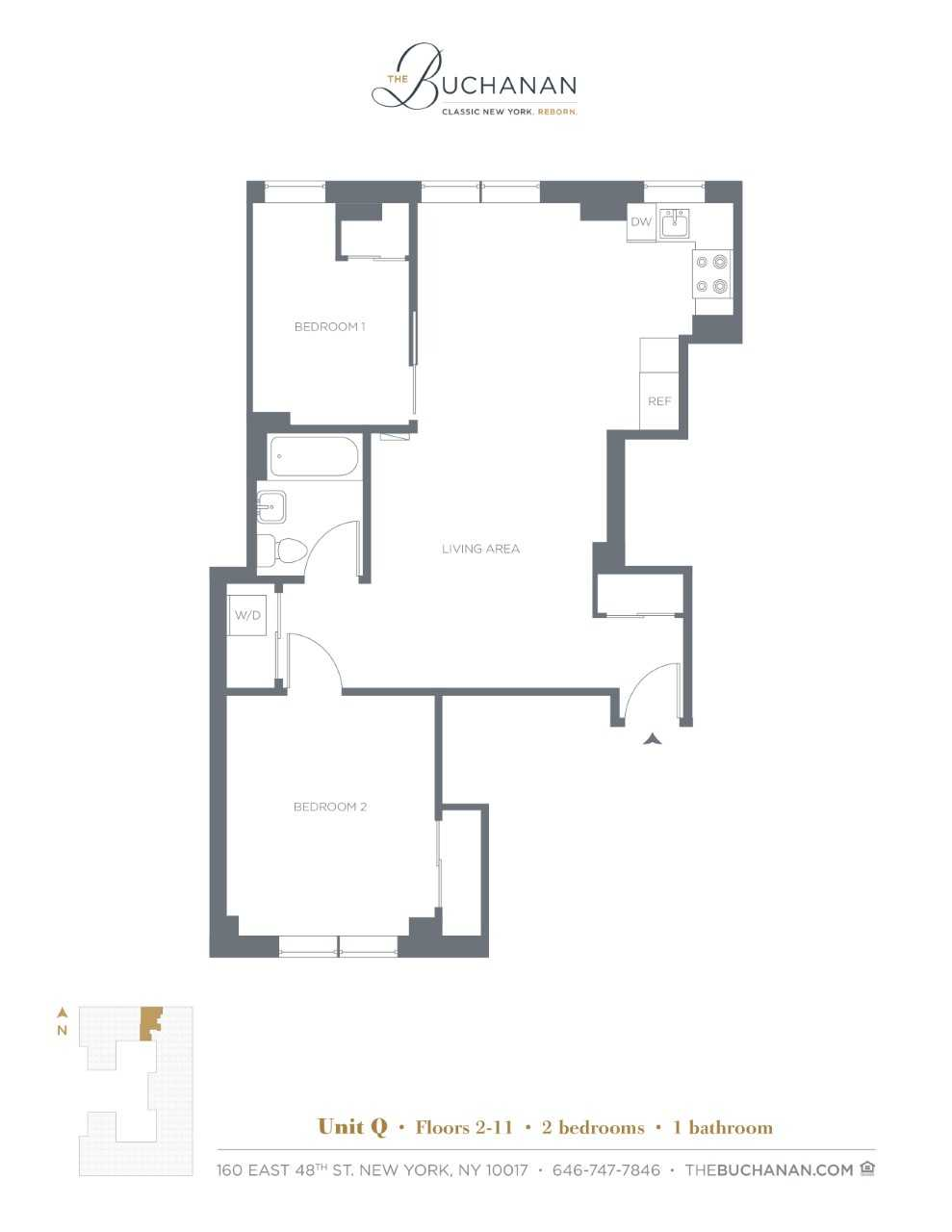 Floor plan for 4Q