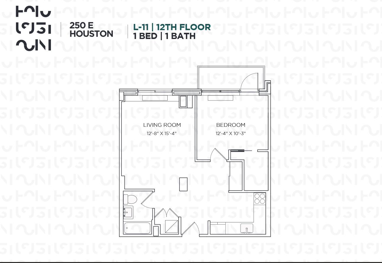 Floor plan for 012L