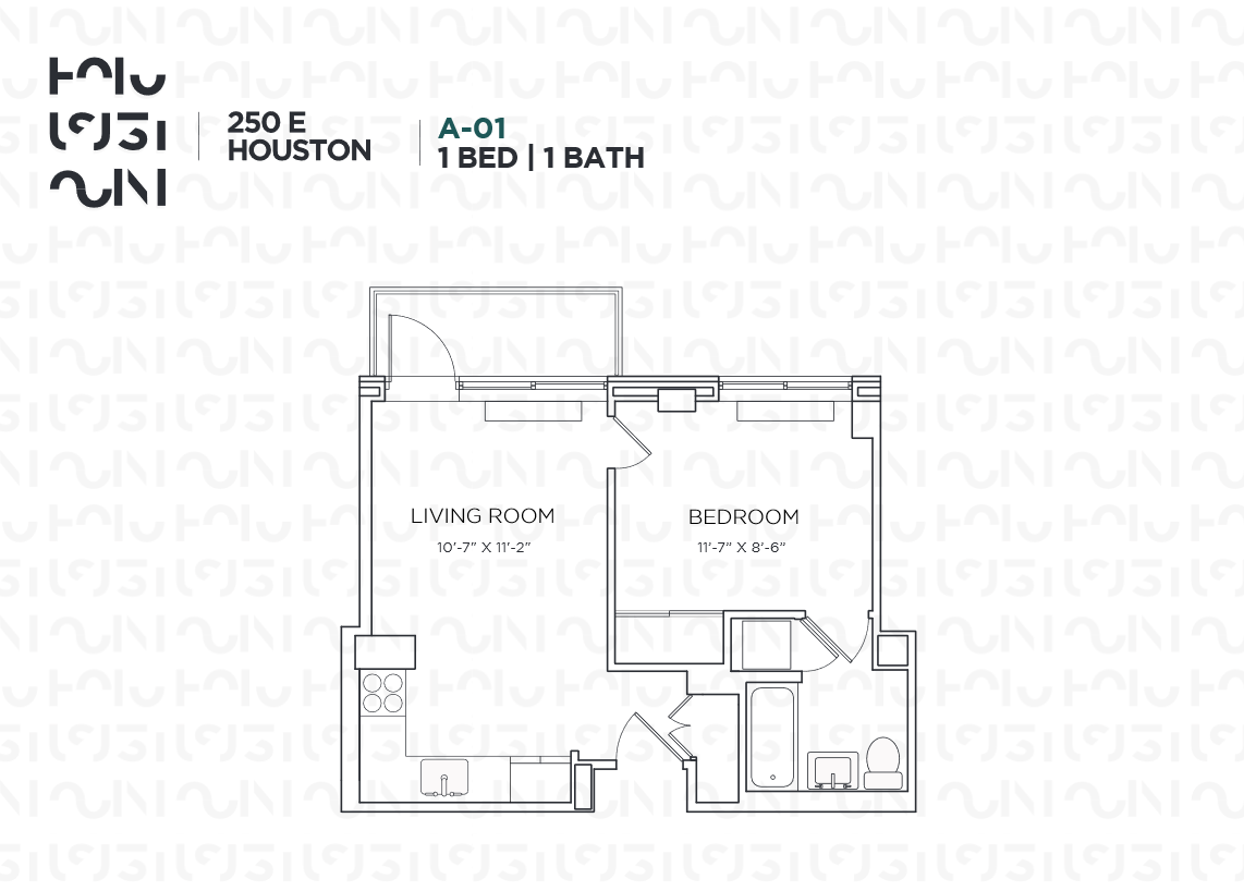 Floor plan for 10A