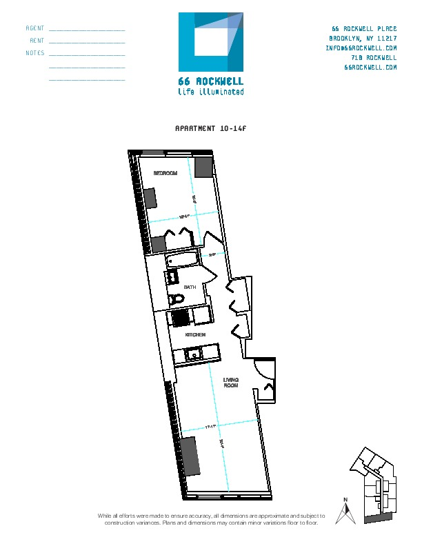 Floor plan for 13F